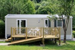 Mobile Home 2 bedrooms n°61 - adapted to the people with reduced mobility