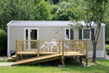 Rental - Mobile Home 2 Bedrooms N°61 - Adapted To The People With Reduced Mobility - Camping LE PYRENEEN