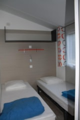 Rental - Mobil home 2 bedrooms + terrace - Neuf - Camping LE PYRENEEN