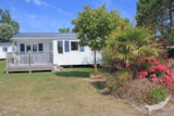 Rental - Mobile home 2 bedrooms + terrace - Camping Des Hautes Grées
