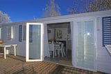 Rental - Mobile home 3 bedrooms 6 People + terrace - Camping Des Hautes Grées