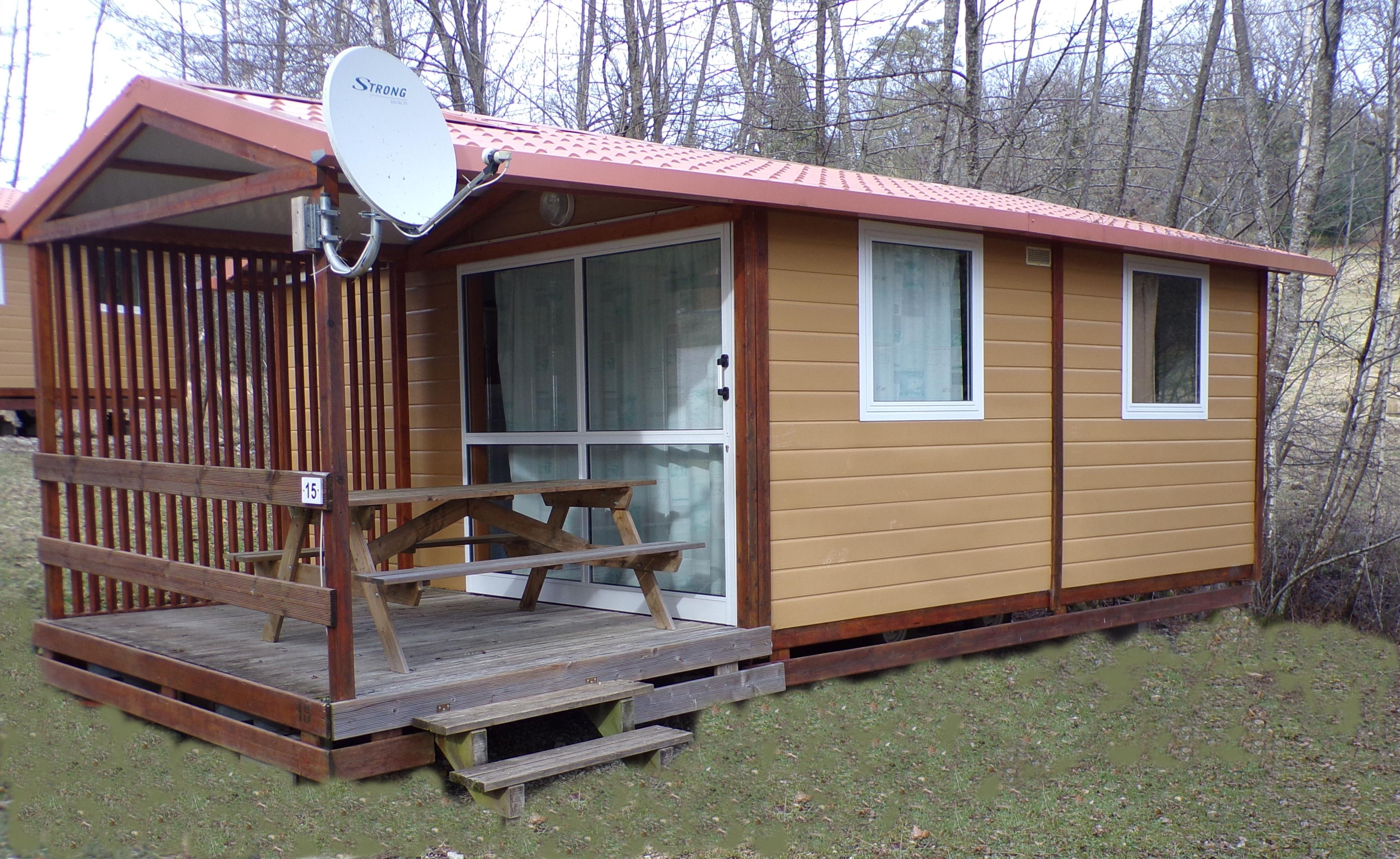 Chalet confort 2 chambres