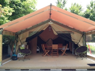Bungalow tent  Victoria (2 rooms, maximum 5 persons)