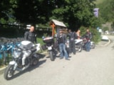 Pitch - Package biker (1 person + 1 motorcycle, 1 tent, without electricity) 1 person - Camping Qualité l'Eden de la Vanoise