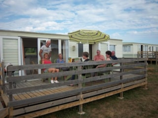 Mobile Home Comfortable (8M X 4M) With Terrace.