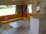 Rental - Mobile home comfortable (8m x 4m) with terrace. - Camping LES CHENES CLAIRS