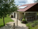 Rental - Bungalow canvas (4,50 m x 4,50 m) 2 rooms without bathroom - Camping LES CHENES CLAIRS