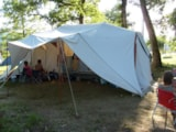 Pitch - Night camping package with electricity - Camping LES CHENES CLAIRS