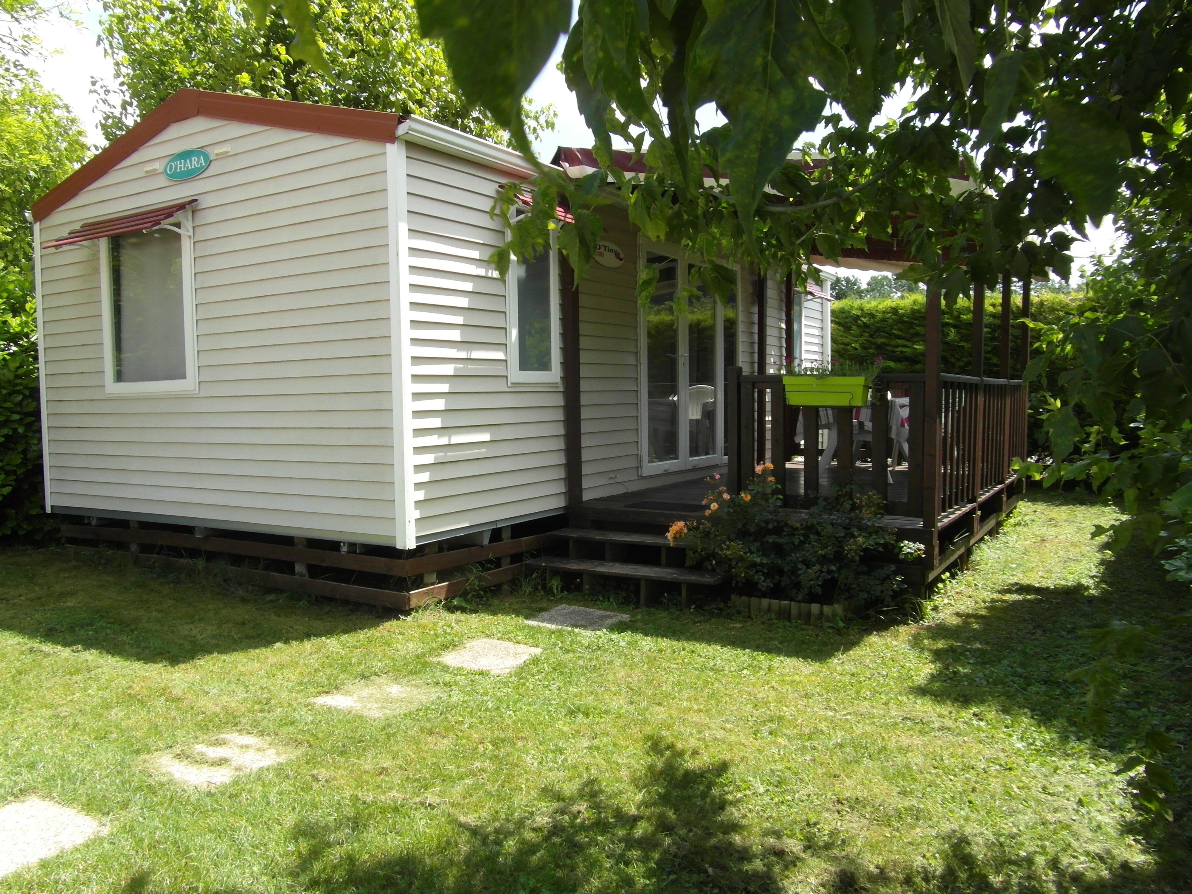 Mobilhome 30m² (2 chambres)