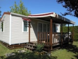 Rental - Mobile-Home 32M² (2 Bedrooms) - Camping Les Ulèzes