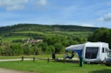 Pitch - Pitch + car + tent + electricity - Camping Des Sources