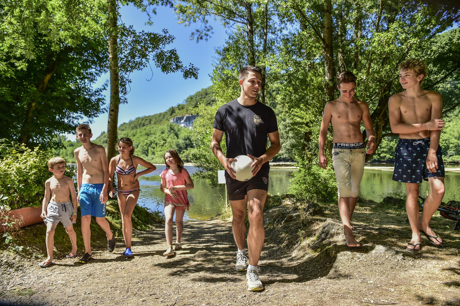 Entertainment organised Camping LA RIVIERE - LACAVE