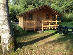 Accommodation - Cabane Vosgienne 18M² 4P Without Water And Without Sanitary Facilities 2017 - Camping Au Mica
