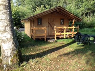 Cabane Vosgienne 18m² 4p without water and without sanitary facilities 2017