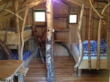 Rental - Cabane Vosgienne 18m² 4p without water and without sanitary facilities 2017 - Camping Au Mica