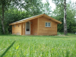 Wood chalet 6p with sanitary facilities 28m² (2018)