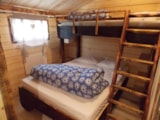 Rental - Wood chalet 6p with sanitary facilities 28m² (2018) - Camping Au Mica
