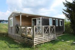 Location - Mobile Home Bardage Bois Tout Confort 35M2 - CAMPING DU LAC DE REMORAY