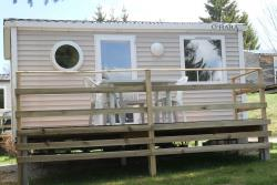 Location - Mobil-Home 20M² - CAMPING DU LAC DE REMORAY