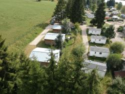 Location - Chalet 28M² - CAMPING DU LAC DE REMORAY