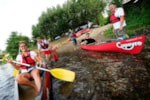 Sport activities Camping La Plage - Meyronne