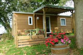 Cottage Trigano Bardage Bois (2 Or 3 Bedrooms ) 25 M2 + Wooden Terrace And Pergola, ( 9 M2 Covered  ).