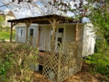 Rental - Mobile-Home 2 Bedrooms Padirac Luxe 30 M2 + Half-Covered Terrace - Camping du PIGEONNIER