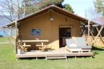 Rental - Tent « SAVANE CONFORT » with kitchen - Camping Yverdon Plage