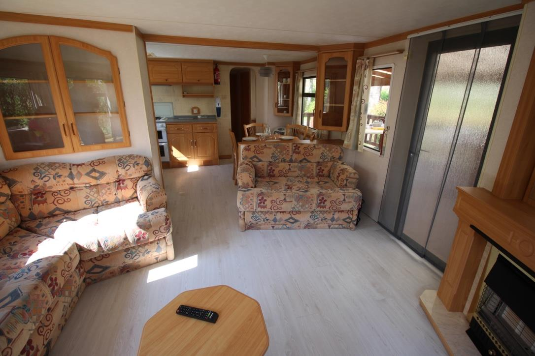Mobil'home RUBIS grand confort 4/6 pers, TV