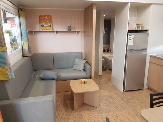 Mobil'home Trigano LUXE 3 chbres 6 pers + 1 bébé
