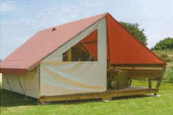 Canvas lodges style Junior 17 m²