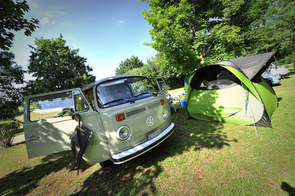 Pitch - Package: Pitch + Car + Tent, Caravan Or Camping-Car - Camping Le Paradis du Campeur
