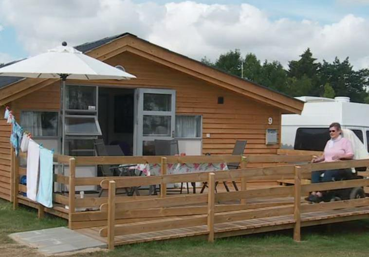 Wheelchair friendly CampOne Holbaek Fjord - Holbæk