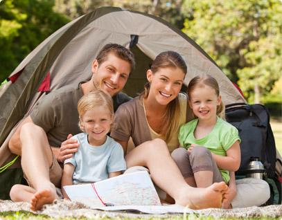 Camping naturaleza barato  Team Holiday Partners