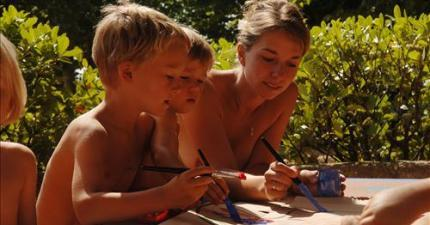 The children's Kingdom - Naturist Campsite Belezy in Provence