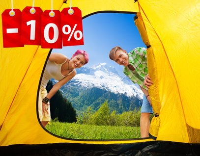 réservation en camping , réduction en camping - team holiday partners