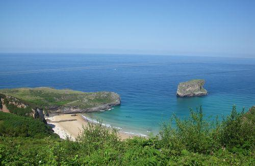 pitches or rented accommodations at a campsite in Asturias and Cantabria